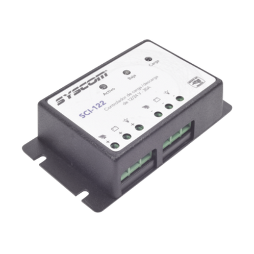Controlador de Carga y Descarga para Sistemas SYSCOM