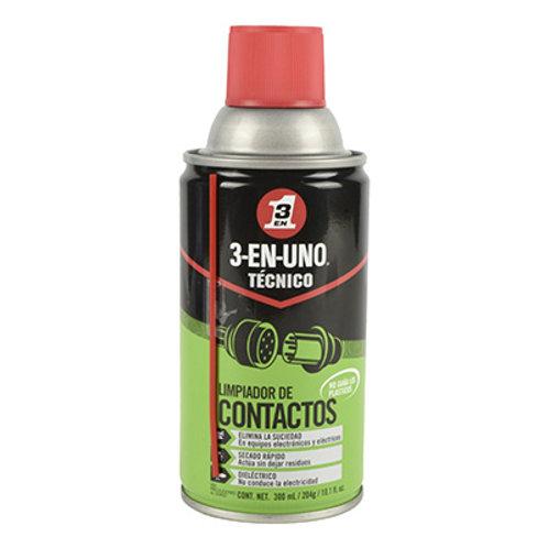 LIMPIADOR DE CONTACTOS 3 EN 1 300 ML