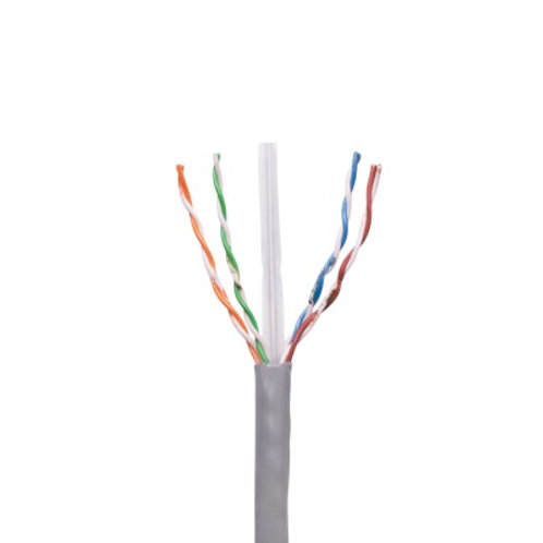 Bob. de cable de 1000 ft ( 305 m ) Cat6, Gris VIAKON
