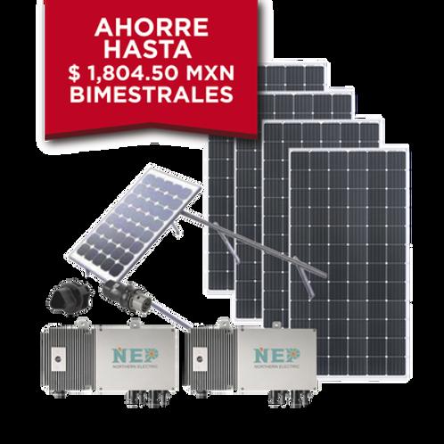 Kit Solar para interconexión de 1.1 kW ECO GREEN ENERGY GROUP LIMITED