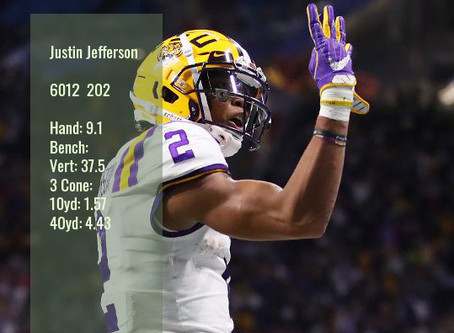 Justin Jefferson Scouting Report