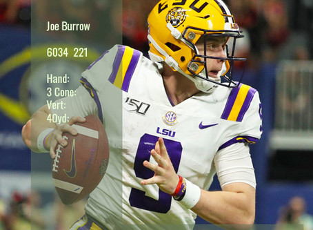 Joe Burrow Scouting Report