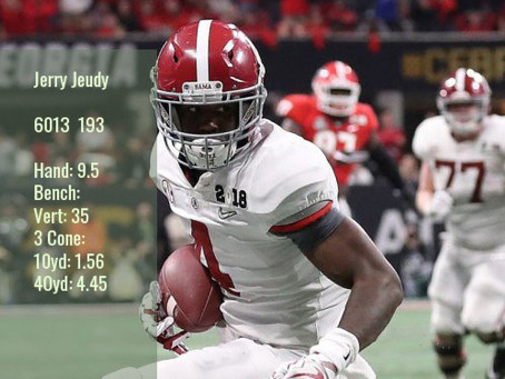 Jerry Jeudy Scouting Report