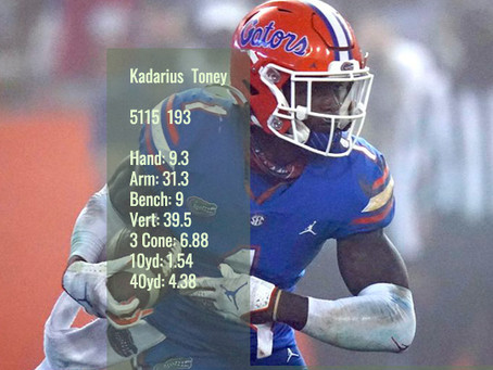 Kadarius Toney Scouting Profile