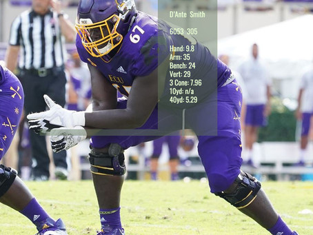 D'Ante Smith Scouting Profile