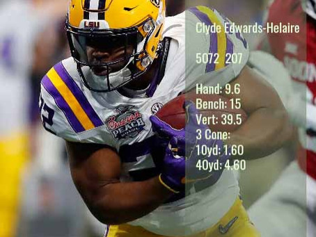 Clyde Edwards-Helaire Scouting Report