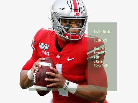 Justin Fields Scouting Profile