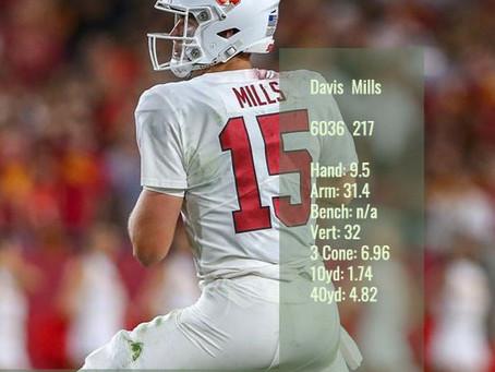 Davis Mills Scouting Profile