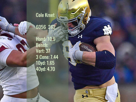 Cole Kmet Scouting Report