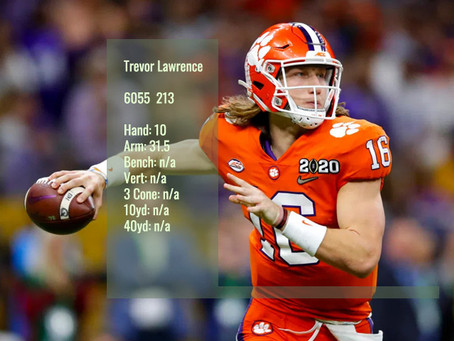 Trevor Lawrence Scouting Profile