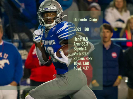 Damonte Coxie Scouting Profile