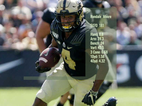 Rondale Moore Scouting Profile