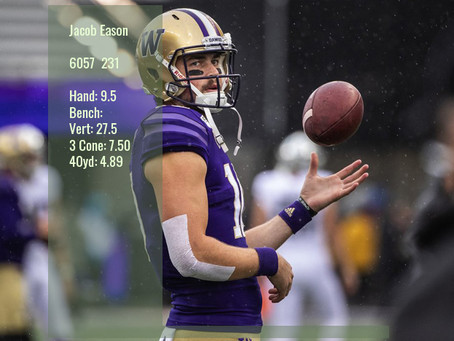 Jacob Eason Scouting Report