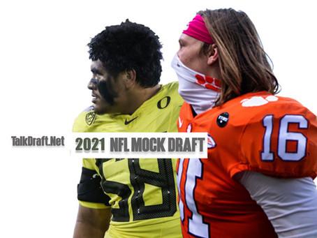 TD 2021 NFL MOCK DRAFT