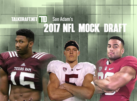 Son Adam's 2017 NFL Mock 2.2