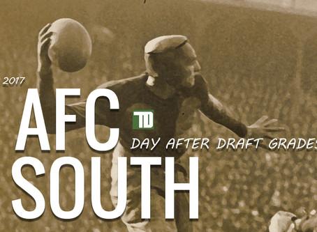 AFC SOUTH DRAFT GRADES