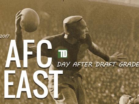 TD AFC EAST 2017 DRAFT GRADES