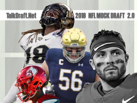 TD's 2018 Mock Draft