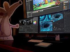 Videos animados 2D, creación de personajes, caricatura animada.