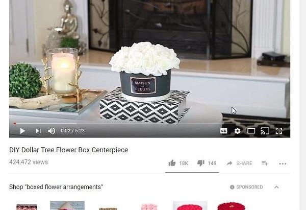 """""""PRODUCTS IN THIS VIDEO""""           La próxima apuesta de YouTube para impulsar las ventas en línea."""