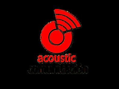 Logotipo Acoustic Comunicación Productora Audiovisual
