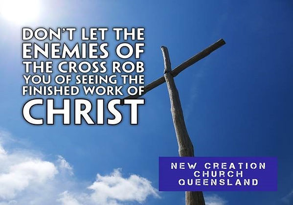 Don't Let The Enemies of The Cross Rob Y