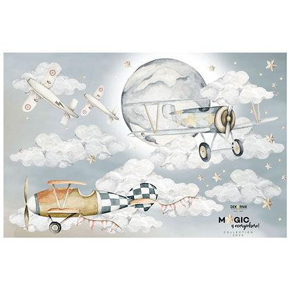 Wandsticker Flugzeuge