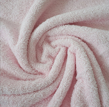 Frottee Uni Rosa