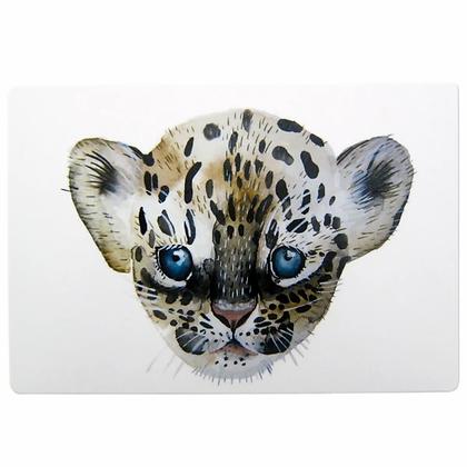 Schneidebrett Leopard