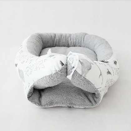Babynest Forest / Frottee grau