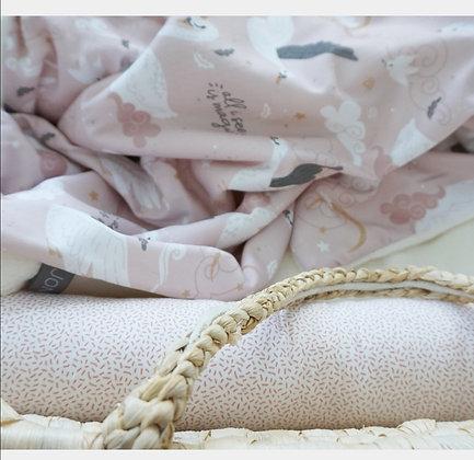 Stubenwagenschlange Sprenkel rosa