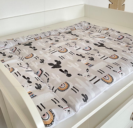 *Wickelauflage wasserabweisend Alpaka 66x59 cm