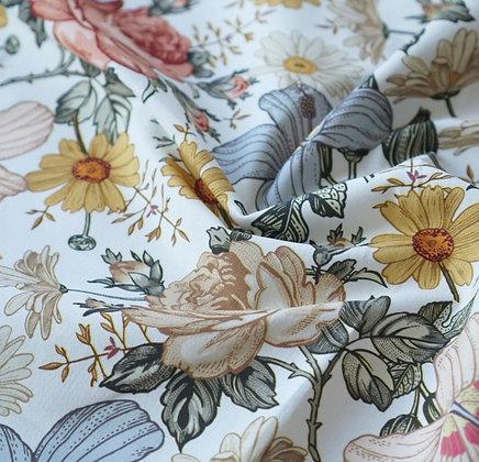 Baumwolle Vintage Blumen