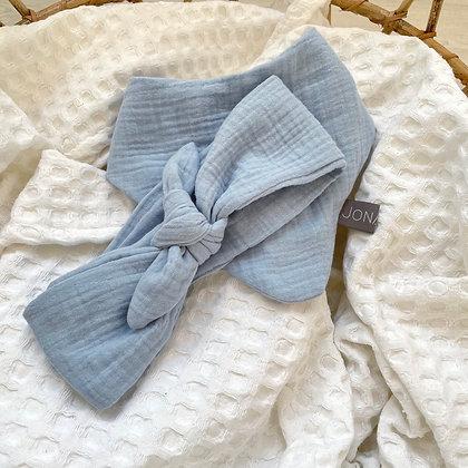 *Set Haarband und Halstuch hellblau