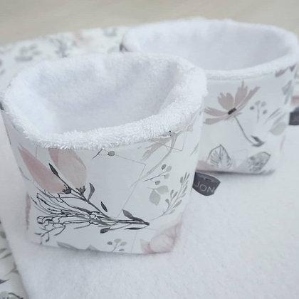 Utensilo Magnolie / Frottee weiß