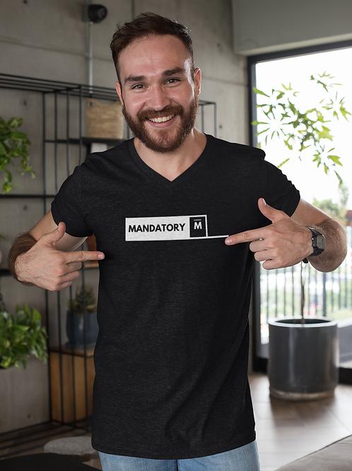 Men's Mandatory Millionaire Tee Black