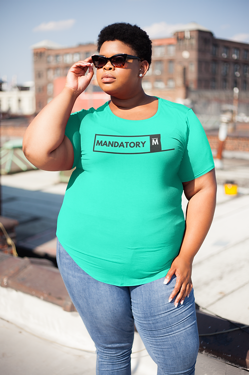 Women's Mandatory Millionaire Tee Green