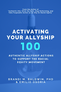 Activating Your Allyship Book Cover Draf