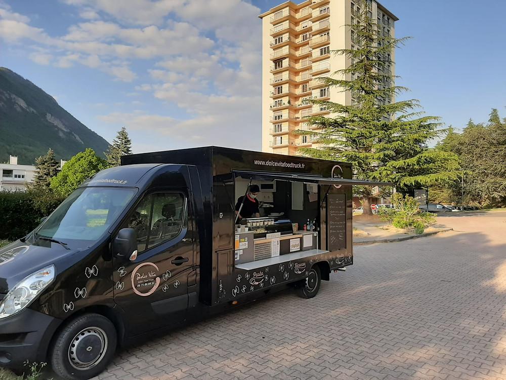 Food Truck Dolce Vita Place de la Mairie Montmélian