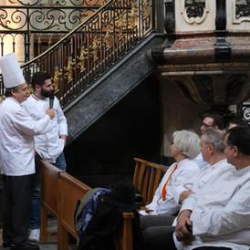 Un chef cuisinier italien