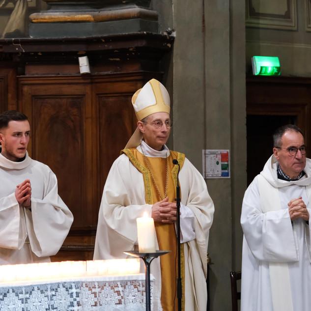 Mgr Le Gal préside la messe
