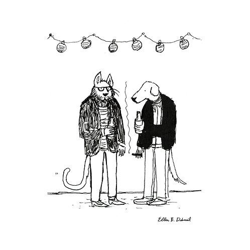Cat & Dog Print