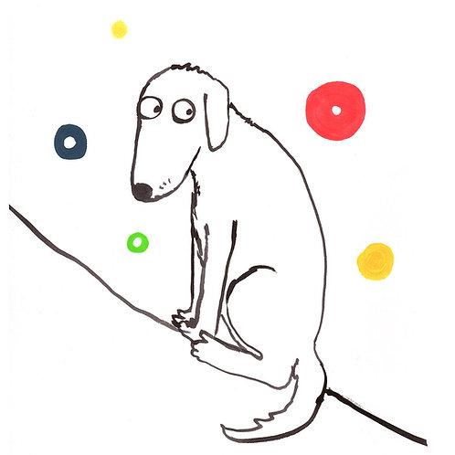 Doggy Spheres Print