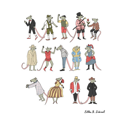 Conrad's Outfits Print