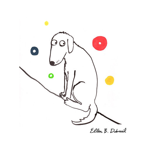 Doggy Spheres Print (8.5 x 11)