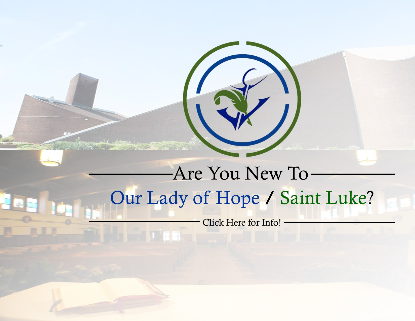 New to the parish website