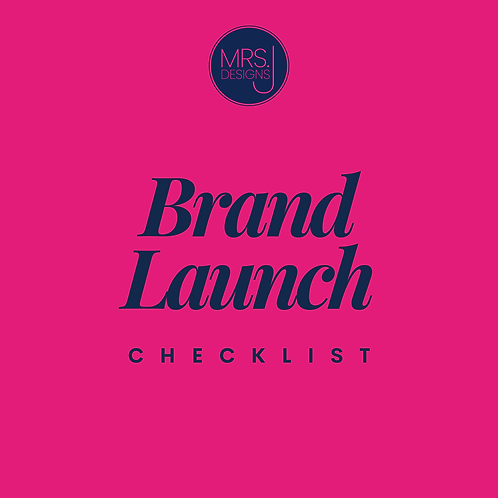 Brand Launch Checklist