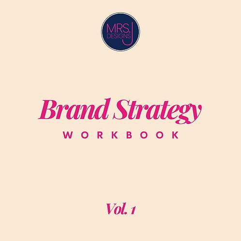 Brand Strategy Workbook Vol. 1