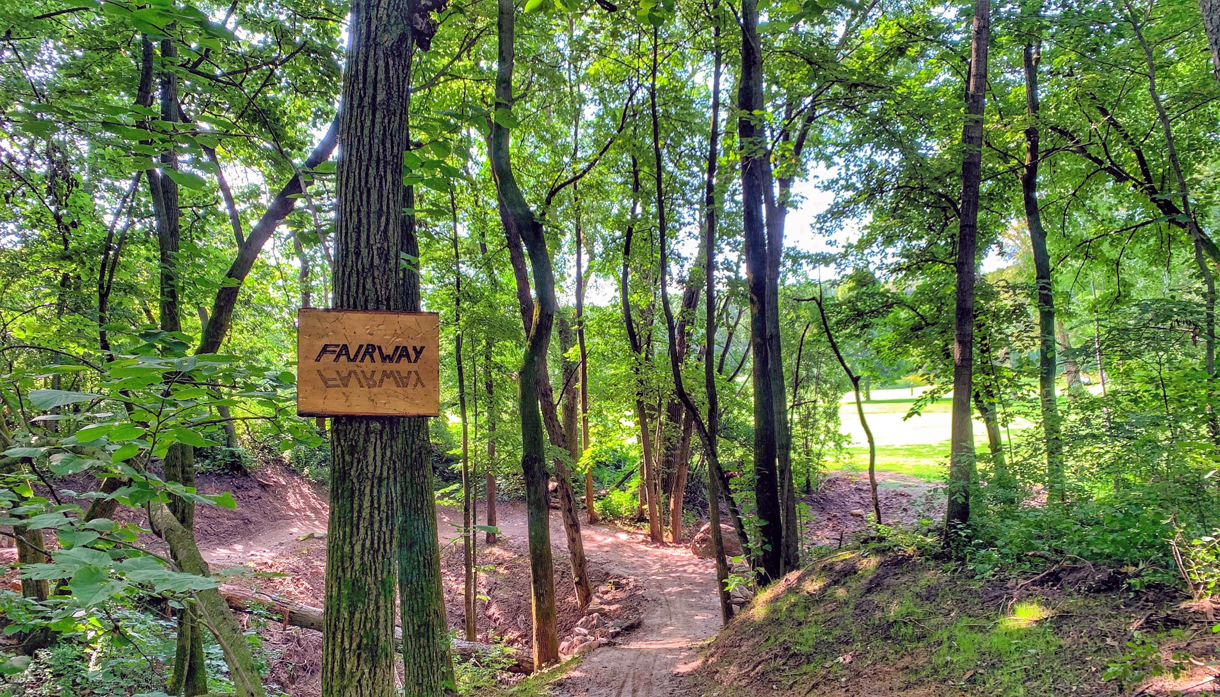 custom sign _Fairway