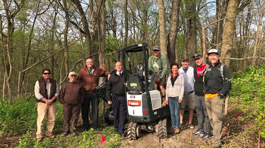 Ken - advocacy - partners in trails Linn